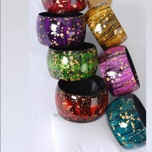 Acrylic Fall Fancy Bracelets